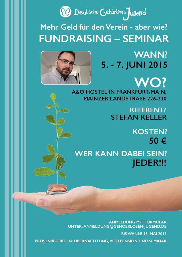 Seminar_Fundraising_Plakat